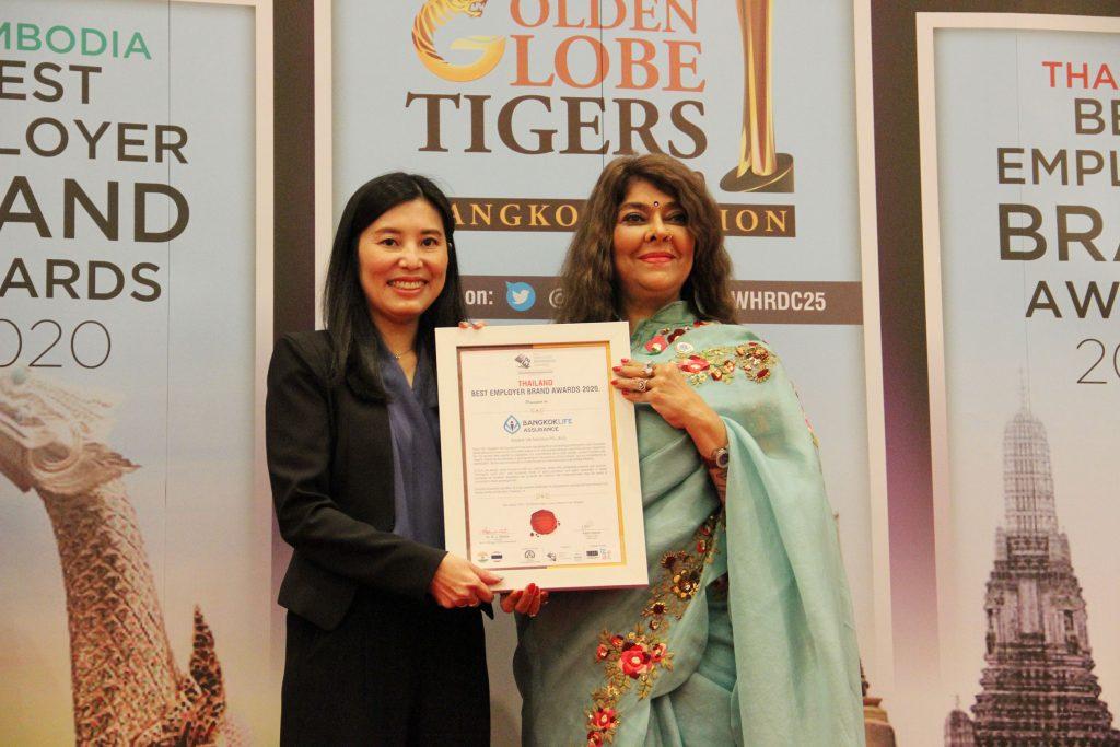 กรุงเทพประกันชีวิต คว้า 2 รางวัลเกียรติยศในงาน 14thEMPLOYER BRANDING AWARDSเดินหน้าพัฒนาบุคลากรคุณภาพ สู่ความสำเร็จขององค์กรอย่างยั่งยืน